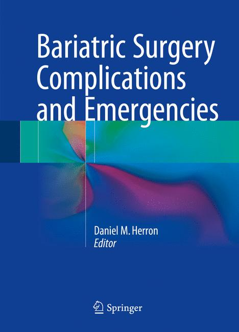 Cover of 'Bariatric Surgery Complications and Emergencies'