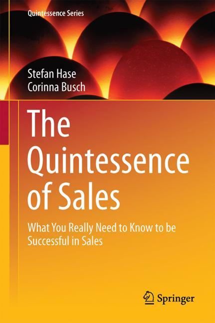 Cover of 'The Quintessence of Sales'