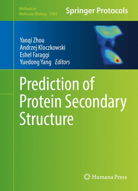 Cover of 'Prediction of Protein Secondary Structure'