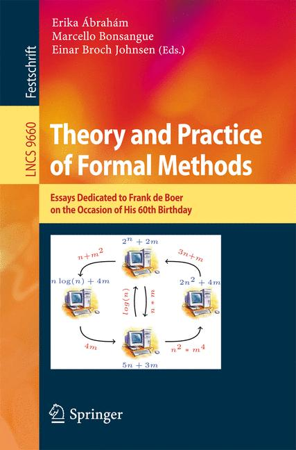 Cover of 'Theory and Practice of Formal Methods'