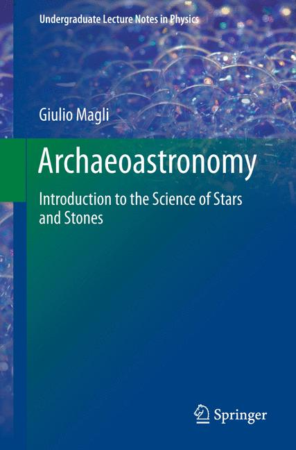 Cover of 'Archaeoastronomy'
