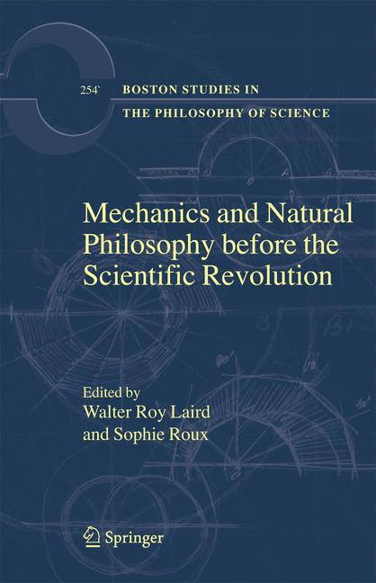 Cover of 'Mechanics and Natural Philosophy Before the Scientific Revolution'