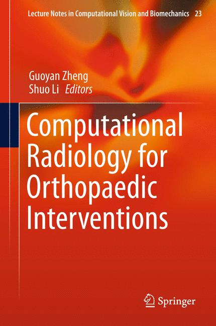 Cover of 'Computational Radiology for Orthopaedic Interventions'
