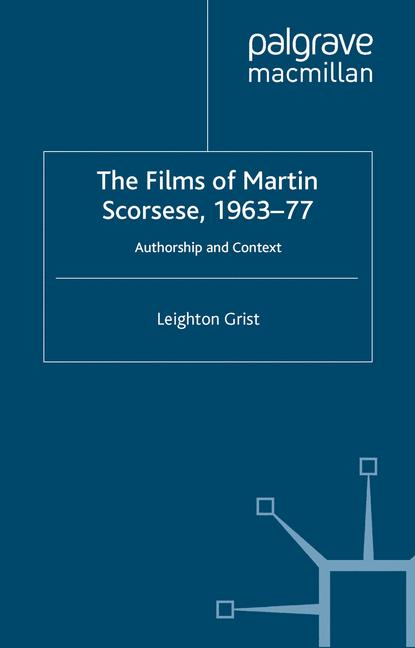 Cover of 'The Films of Martin Scorsese, 1963-77'