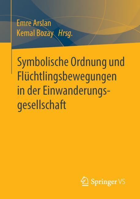 Cover of 'Symbolische Ordnung und Flüchtlingsbewegungen in der Einwanderungsgesellschaft'