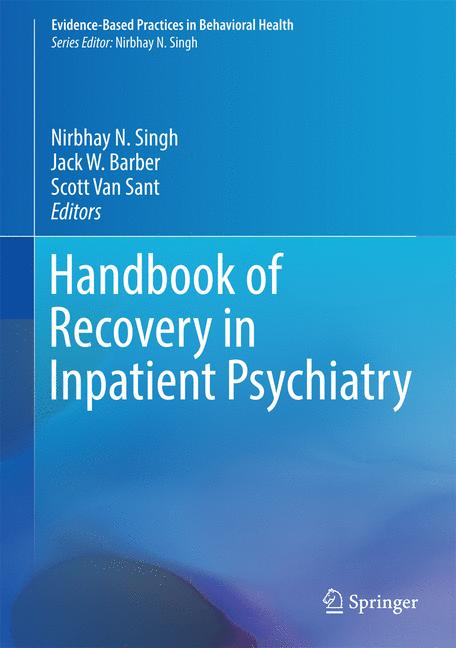 Cover of 'Handbook of Recovery in Inpatient Psychiatry'