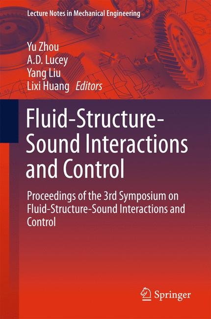 Cover of 'Fluid-Structure-Sound Interactions and Control'