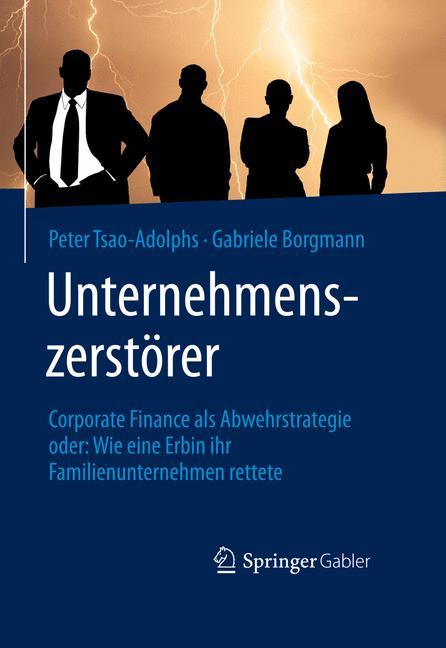 Cover of 'Unternehmenszerstörer'