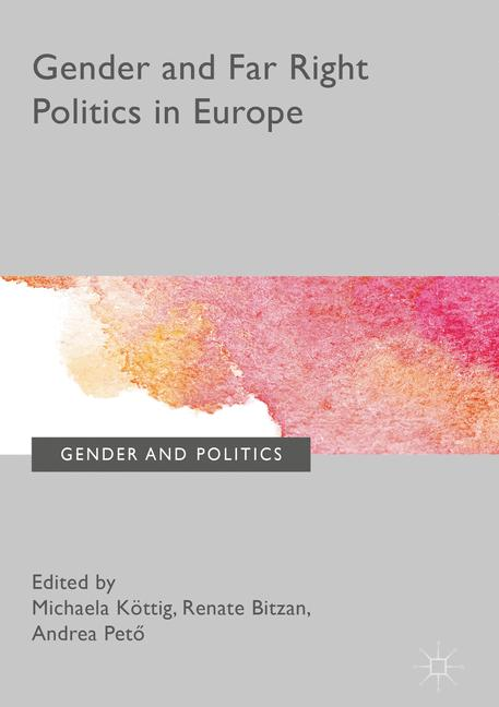 Cover of 'Gender and Far Right Politics in Europe'
