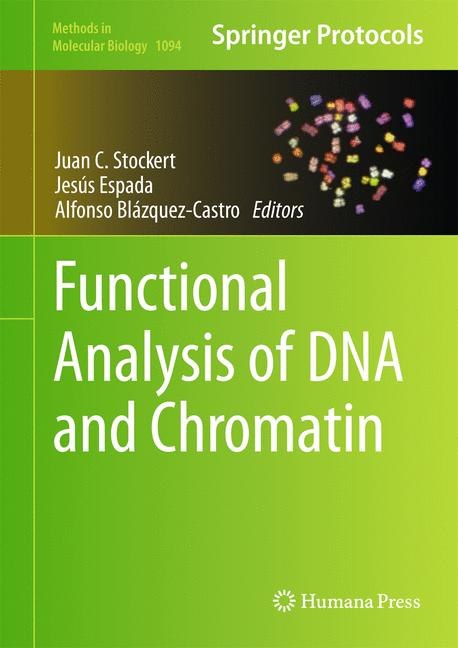 Cover of 'Functional Analysis of DNA and Chromatin'