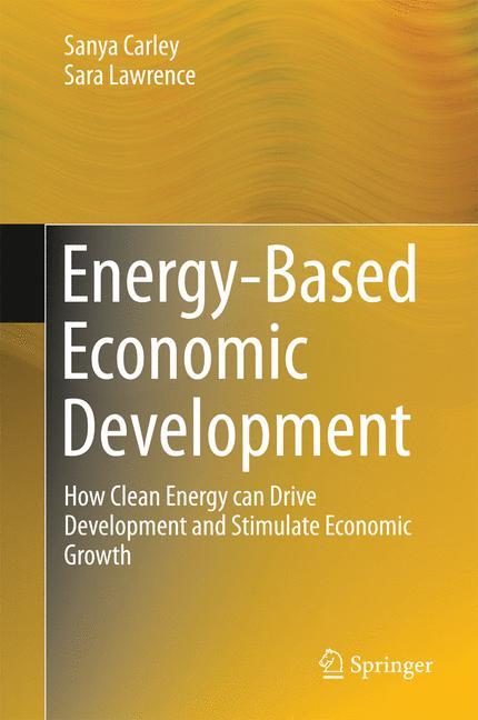 Cover of 'Energy-Based Economic Development'