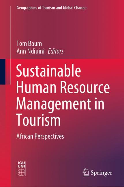 Cover of 'Sustainable Human Resource Management in Tourism'