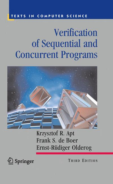 Cover of 'Verification of Sequential and Concurrent Programs'