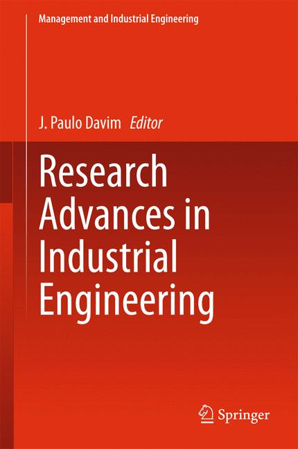 Cover of 'Research Advances in Industrial Engineering'