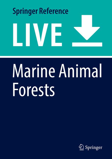 Cover of 'Marine Animal Forests'