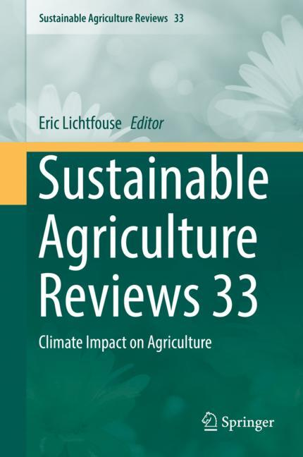 Cover of 'Sustainable Agriculture Reviews 33'