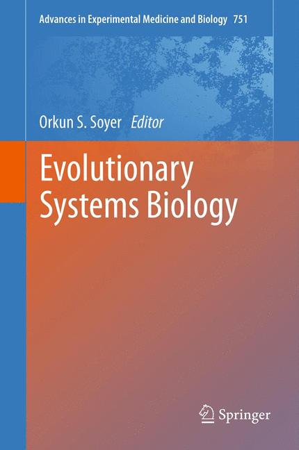 Cover of 'Evolutionary Systems Biology'