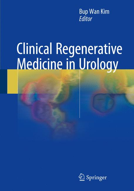 Cover of 'Clinical Regenerative Medicine in Urology'