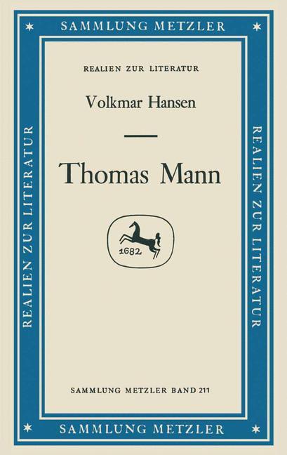 Cover of 'Thomas Mann'