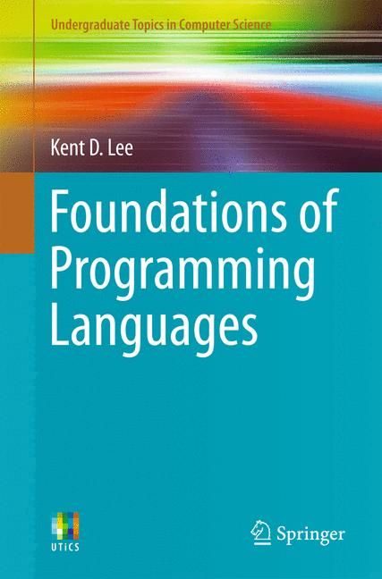 Cover of 'Foundations of Programming Languages'