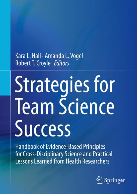 Cover of 'Strategies for Team Science Success'