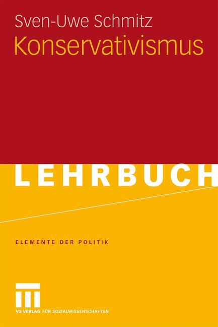 Cover of 'Konservativismus'