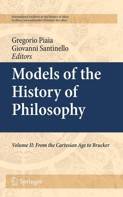 Cover of 'Models of the History of Philosophy'