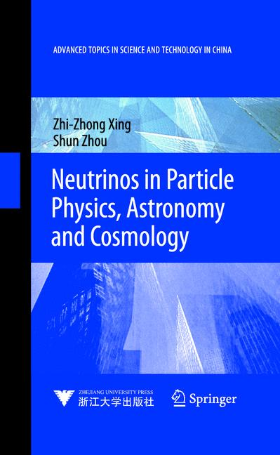 Cover of 'Neutrinos in Particle Physics, Astronomy and Cosmology'