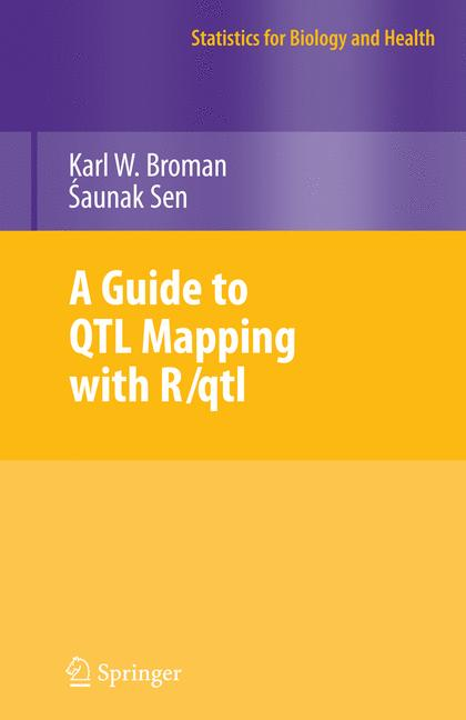 Cover of 'A Guide to QTL Mapping with R/qtl'