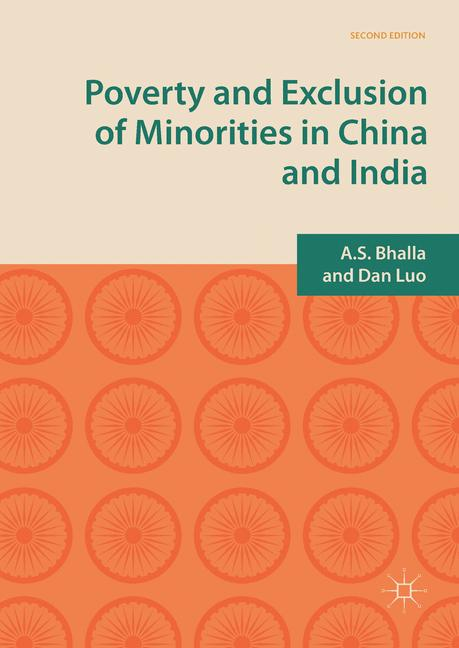 Cover of 'Poverty and Exclusion of Minorities in China and India'
