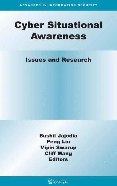 Cover of 'Cyber Situational Awareness'