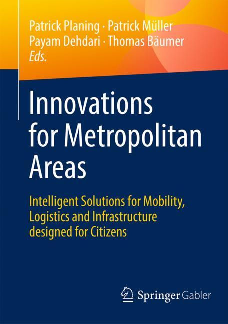 Cover of 'Innovations for Metropolitan Areas'