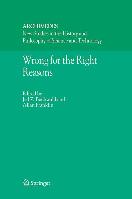 Cover of 'Wrong for the Right Reasons'