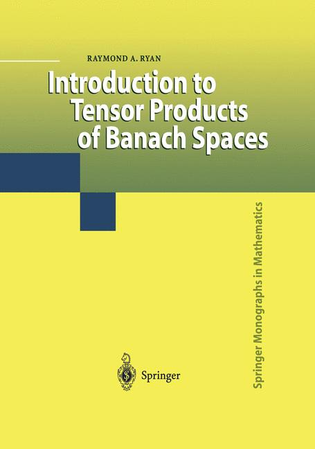 Cover of 'Introduction to Tensor Products of Banach Spaces'