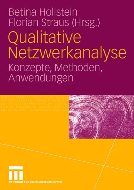 Cover of 'Qualitative Netzwerkanalyse'