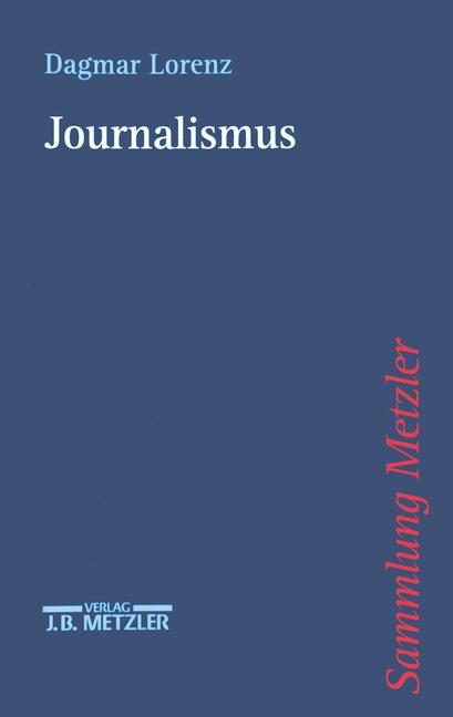 Cover of 'Journalismus'