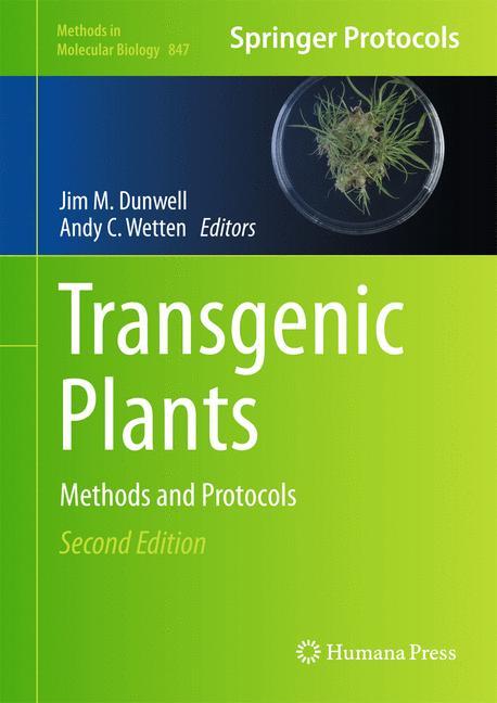 Cover of 'Transgenic plants'