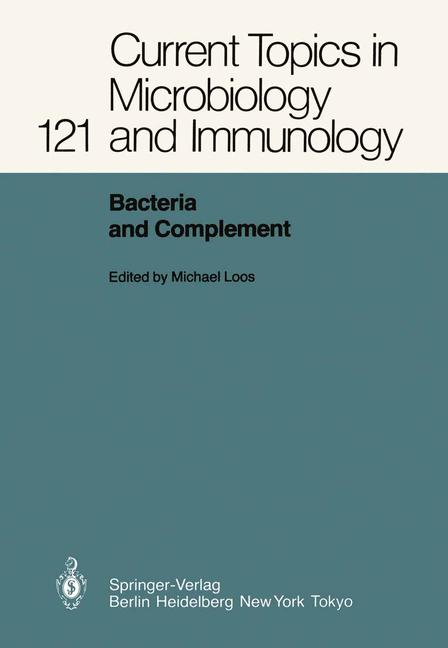 Cover of 'Bacteria and Complement'