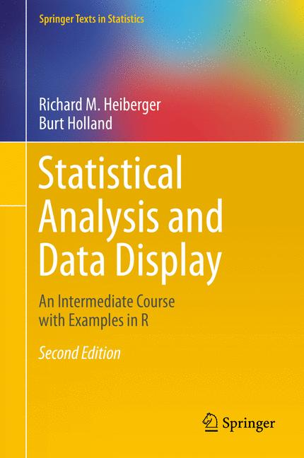 Cover of 'Statistical Analysis and Data Display'