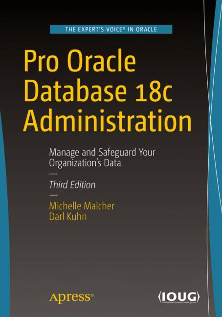 Cover of 'Pro Oracle Database 18c Administration'
