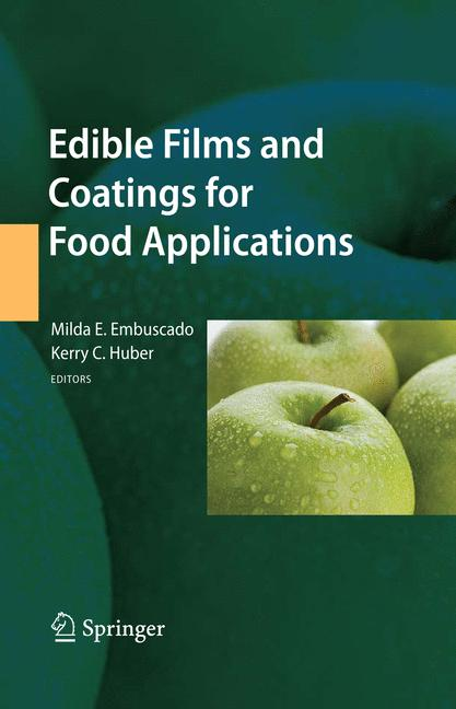 Cover of 'Edible Films and Coatings for Food Applications'
