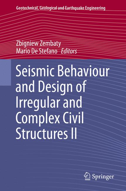Cover of 'Seismic Behaviour and Design of Irregular and Complex Civil Structures II'