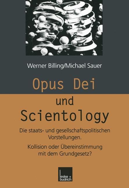 Cover of 'Opus Dei und Scientology'