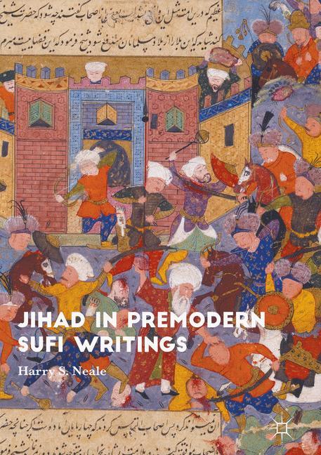 Cover of 'Jihad in Premodern Sufi Writings'