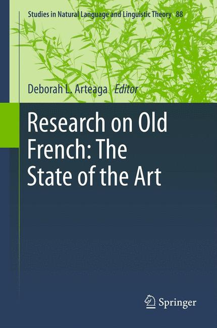 Cover of 'Research on Old French: The State of the Art'