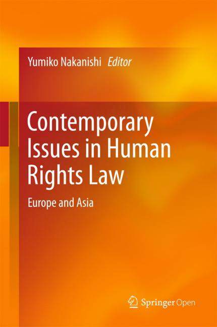 Cover of 'Contemporary Issues in Human Rights Law'