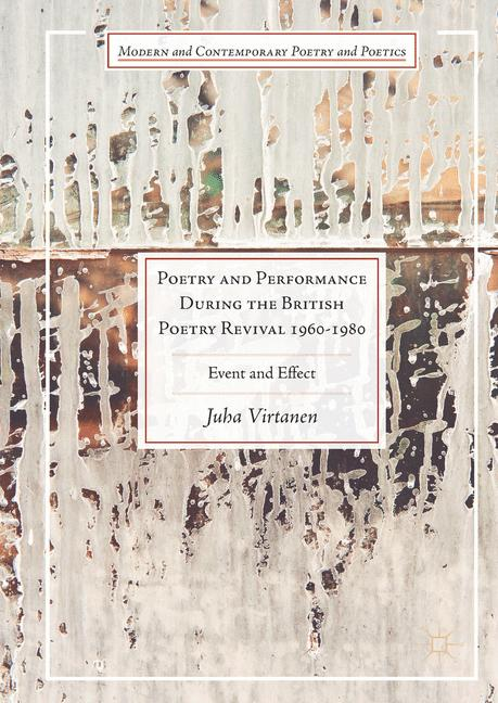 Cover of 'Poetry and Performance During the British Poetry Revival 1960–1980        '