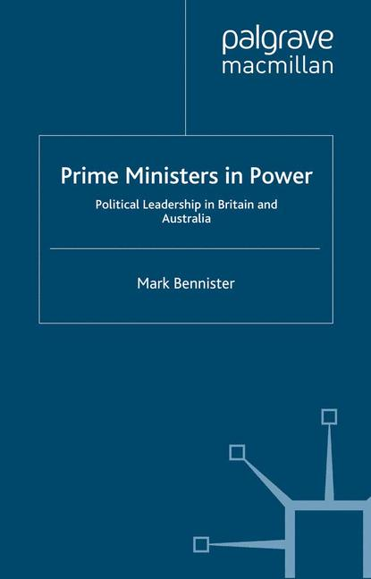 Cover of 'Prime Ministers in Power'