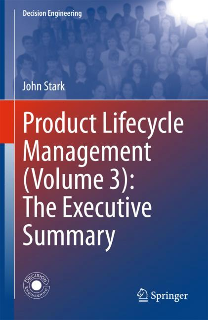 Cover of 'Product Lifecycle Management (Volume 3): The Executive Summary'