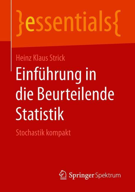 Cover of 'Einführung in die Beurteilende Statistik'